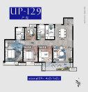 4室2厅2卫 面积:129㎡